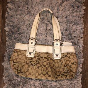 Classic coach handbag Gently Used